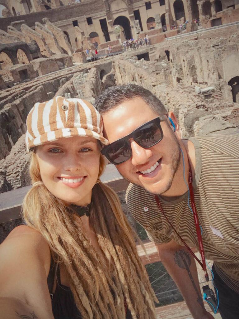 Aaron Guevara and wife Emily