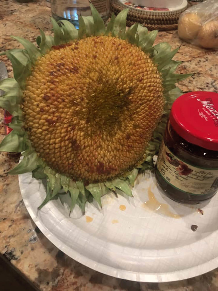Sunflower and sun dried tomato (for recipe)