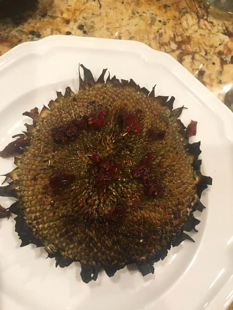 cooked sunflower (for recipe)
