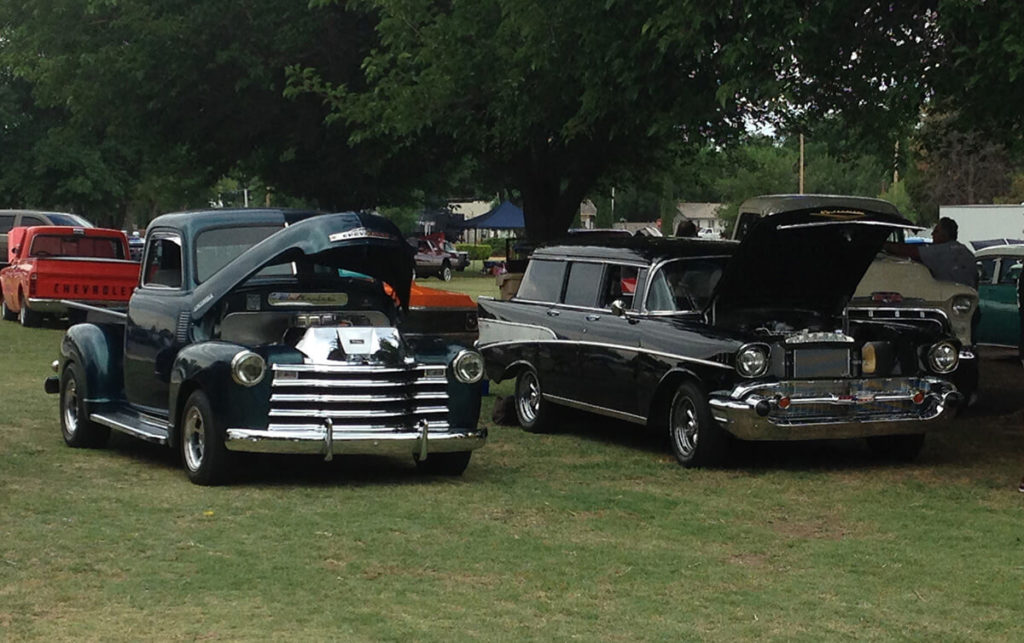 47 Chevy and 57 Belair