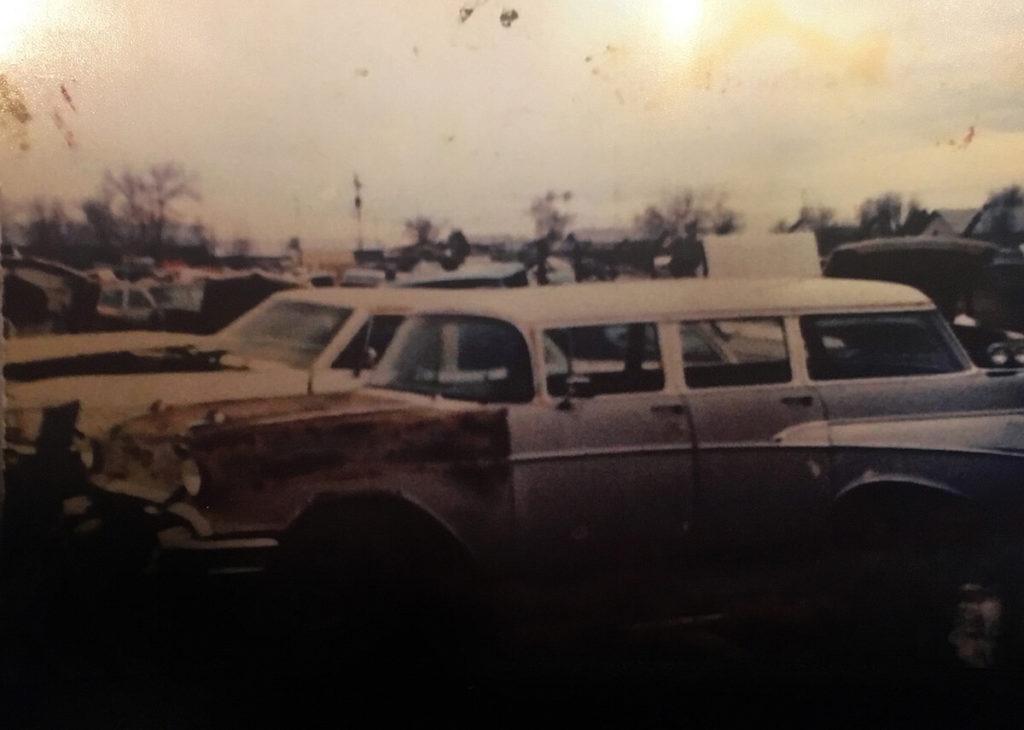 Belair in the junkyard