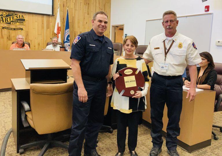 Joy Barr, Chief Hope, Paramedic David Watson