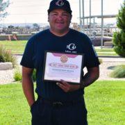 Carlsbad Fire Department Lt. Mark Moreno Receives Devon's Hometown Hero Award