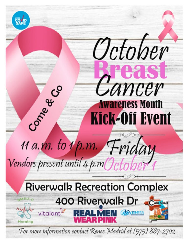 BREAST CANCER flyer Riverwalk 2021