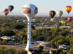 Balloon w. Water Tower